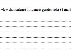 Gender Booklet A level Psychology