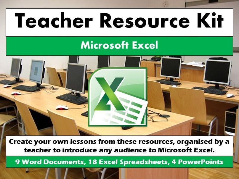 Teacher Resource Kit - Microsoft Excel