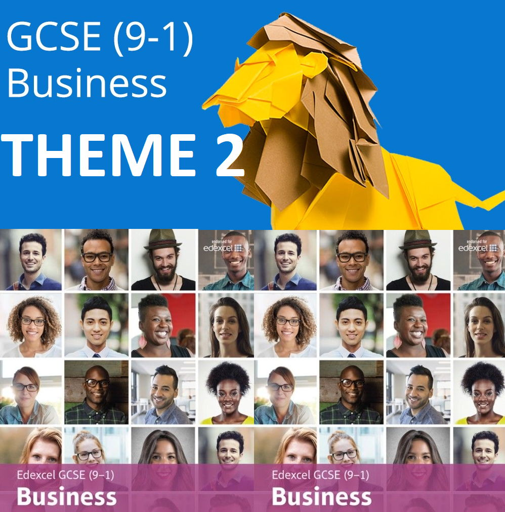 Edexcel GCSE Business (9-1) THEME 2