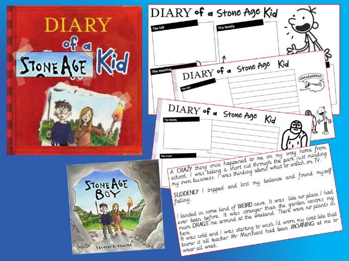 Stone Age Boy - Diary recount in the style of Wimpy Kid