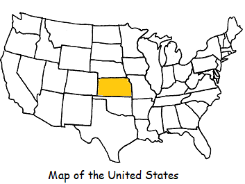 KANSAS - Introductory Geography Worksheet