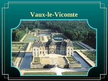 Château de Vaux-le-Vicomte French Castle PowerPoint