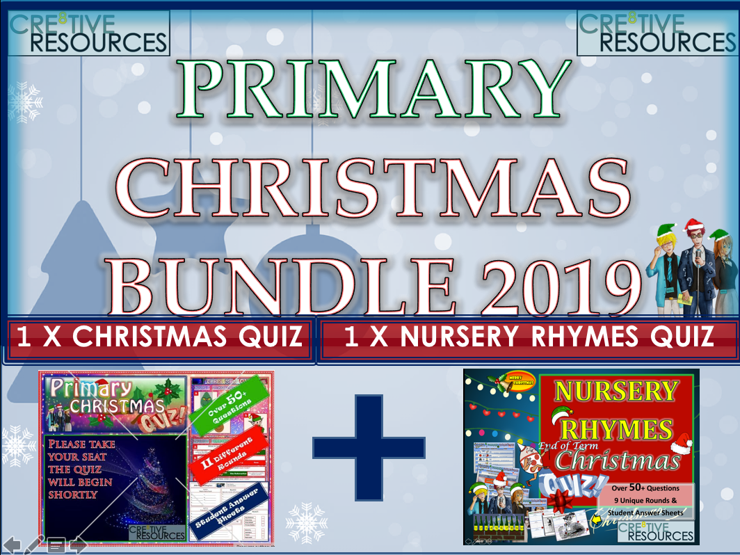 Primary Christmas Quizzes