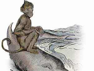 Aesop fable The monkey and the dolphin reading comprehension KS2
