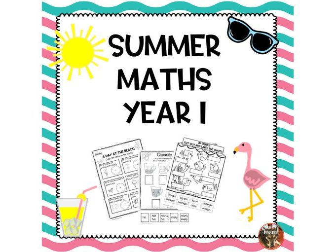 Summer Maths Year 1