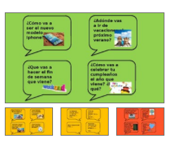 Differentiated speaking cards KS3 and KS4