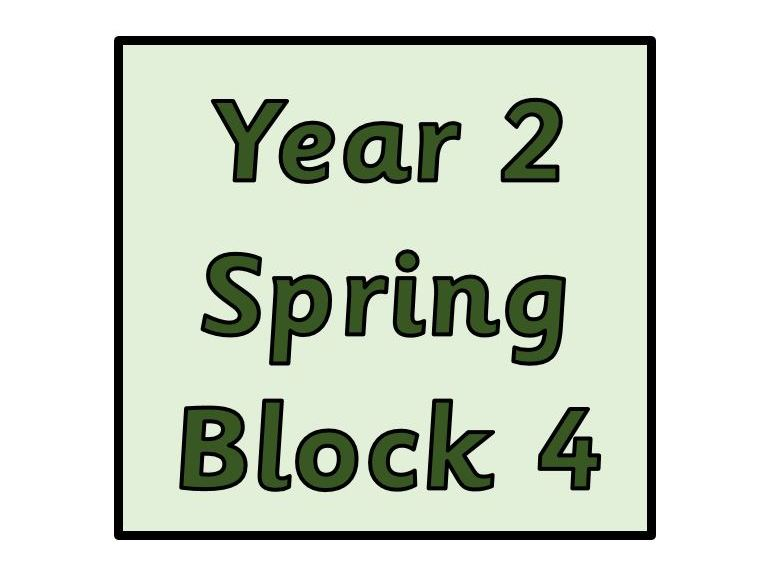 Year 2 - Spring Block 4 - Fractions (Block 8)