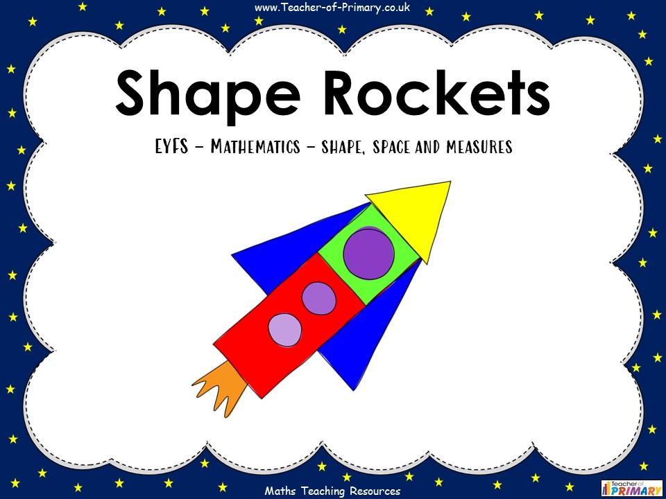 Shape Rockets - EYFS