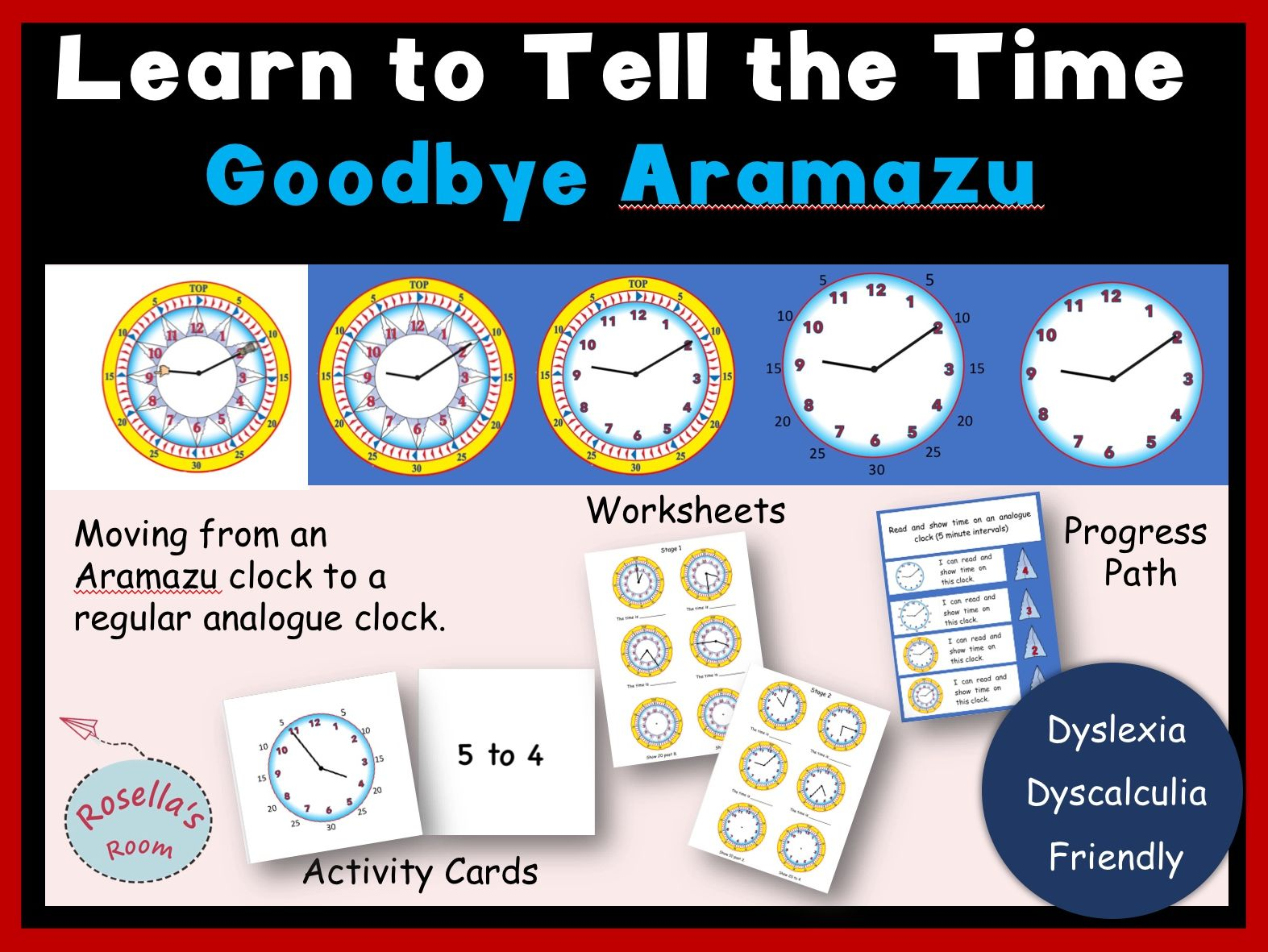Learn to Tell the Time - Goodbye Aramazu