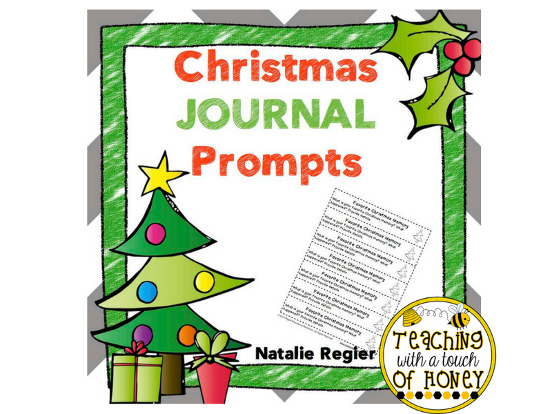 Christmas Journal: 25 Journal Writing Prompts by ...