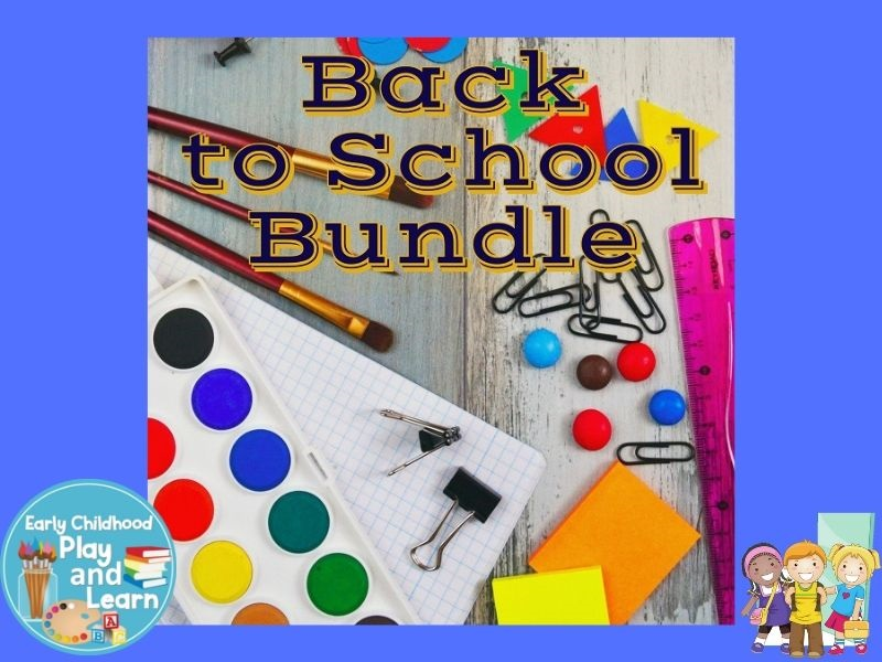 Back To School Bundle US Spelling Version