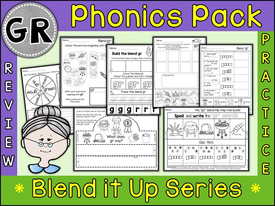 Phonics: Phonics Blend GR