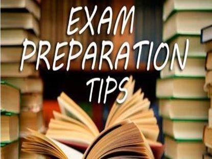 Preparing for Exams