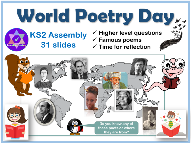 World Poetry Day Assembly KS2