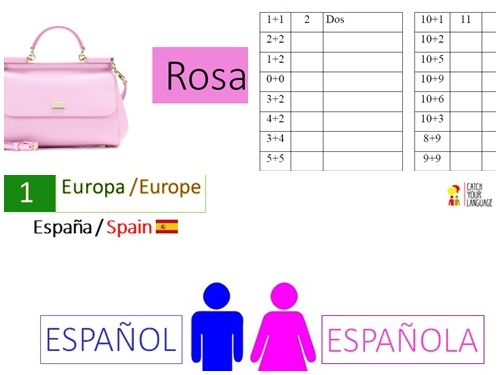 GCSE Spanish Basic Vocabulary Interactive Exercises