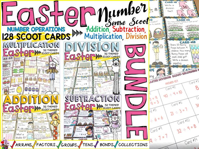 EASTER NUMBER SENSE BUNDLE