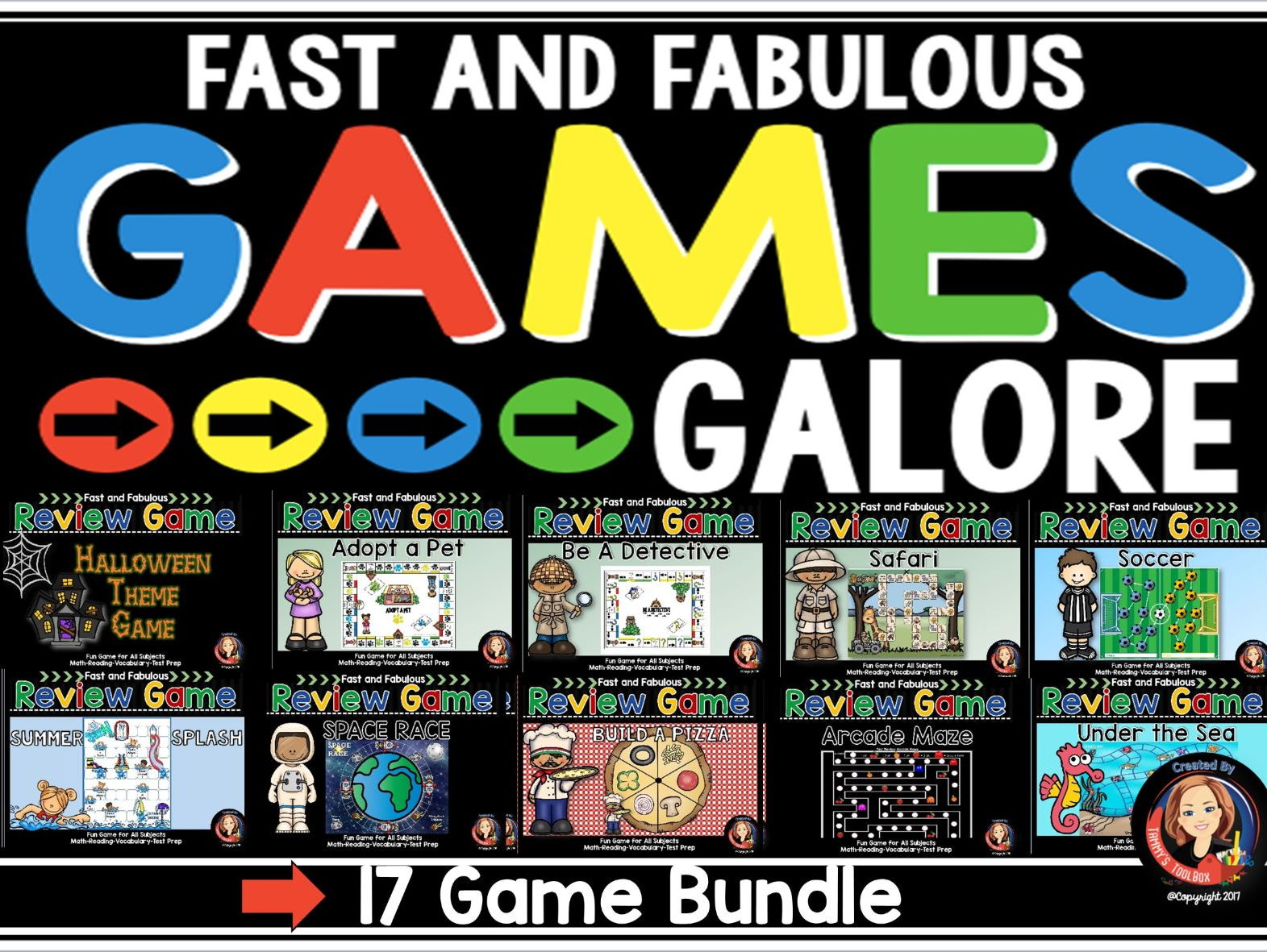 Games Galore - Fact Review Games for Any Subject