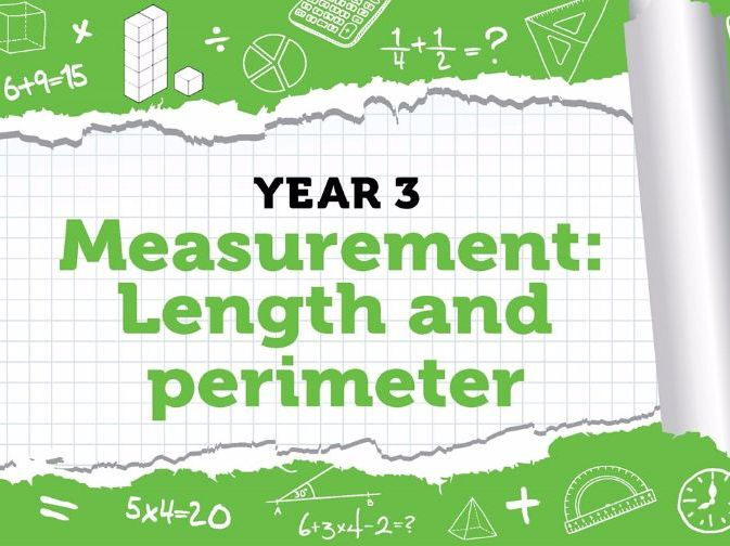 Year 3 - Measurement - Length and Perimeter - Week 7 - Spring - Block 4 - White Rose