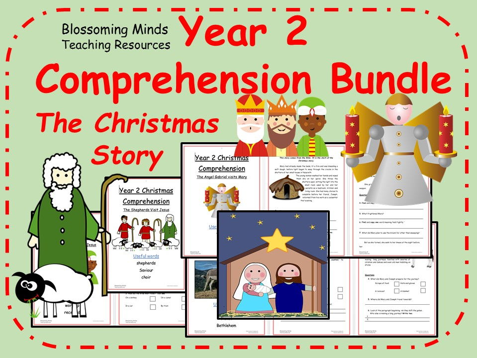 Year 2 Christmas Story Comprehension Pack