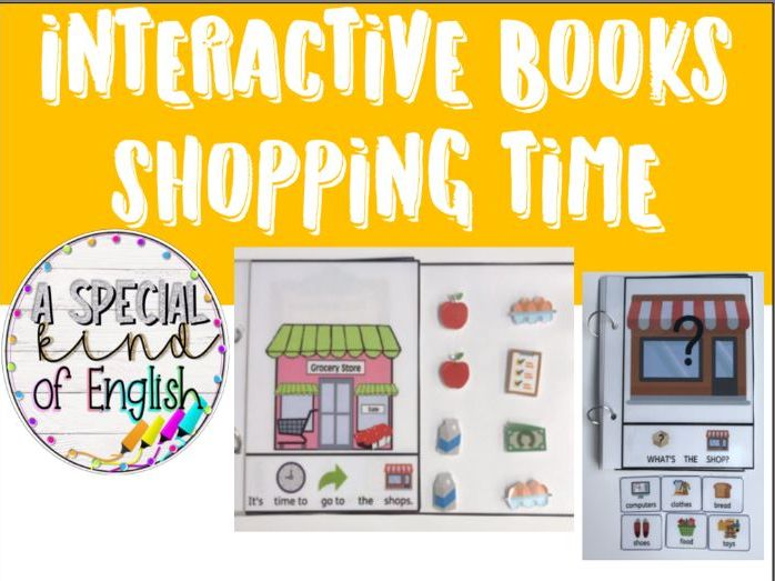 Shopping interactive books