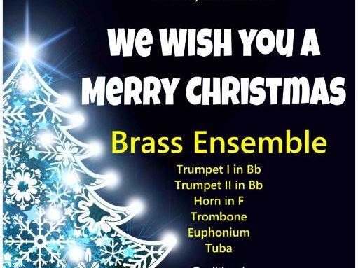We Wish You A Merry Christmas (Brass Ensemble)