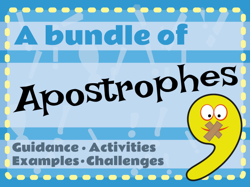 A Bundle of Apostrophes - Special Limited Offer