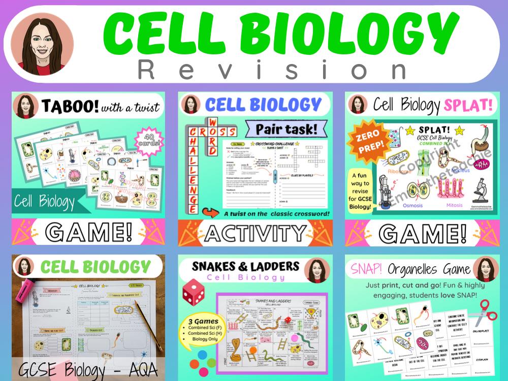 GCSE Cell Biology Revision Bundle