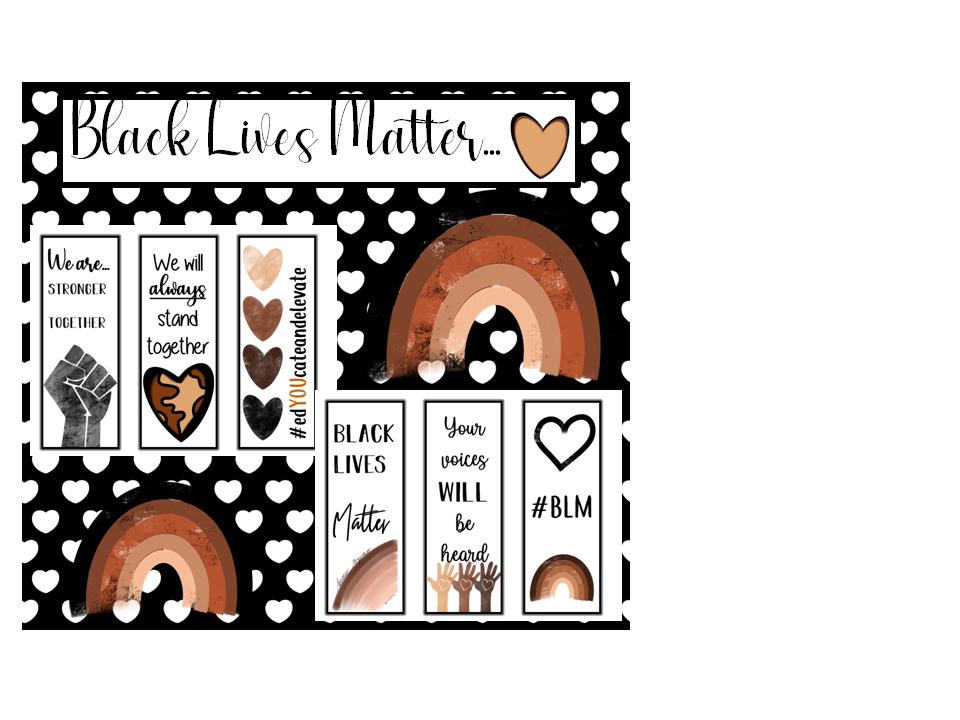 Black Lives Matter- Bookmarks