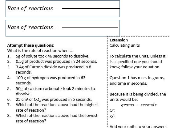 GCSE Chemistry Paper 2 worksheets