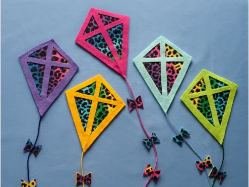 Five Little Kites Felt Board Set Digital Pattern