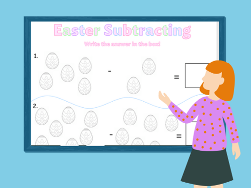 Easter Adding, Subtracting and Multiplying (Foundation/Key Stage 1)