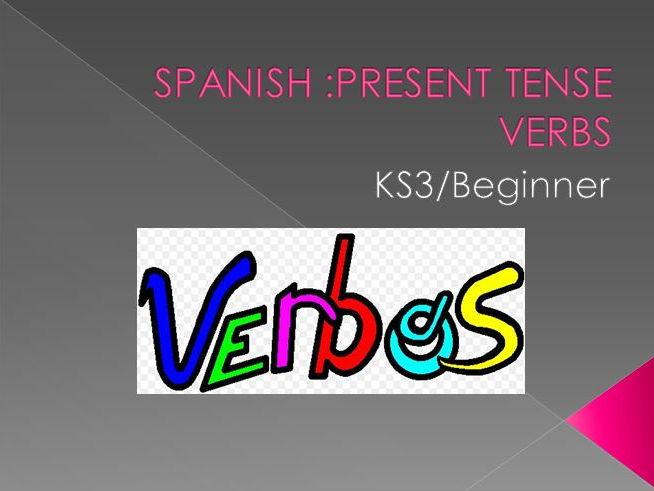 Spanish Verbs - Present Tense