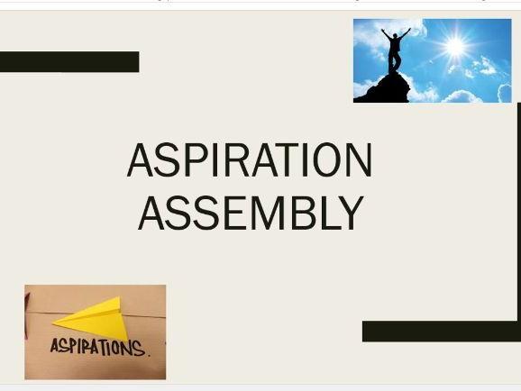 Aspiration Assembly 2017