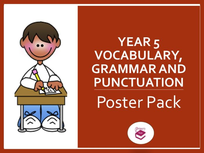 Year 5 Poster Pack