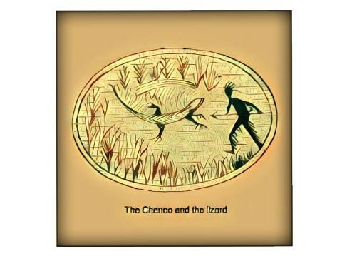 NATIVE AMERICAN LEGENDS - The Chenoo and the Lizard