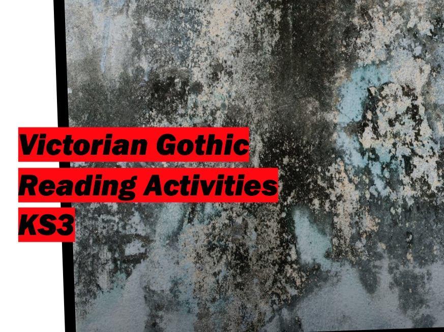 Victorian Gothic Reading Activities