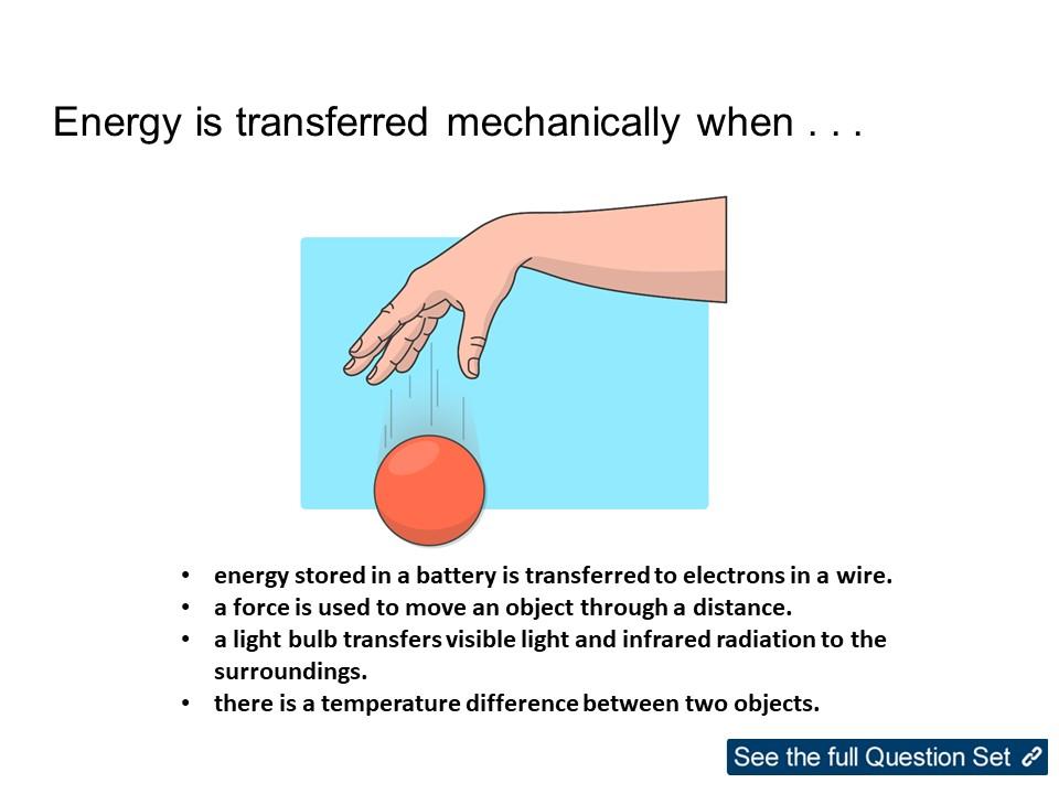 KS3 Physics Energy: Energy Transfers