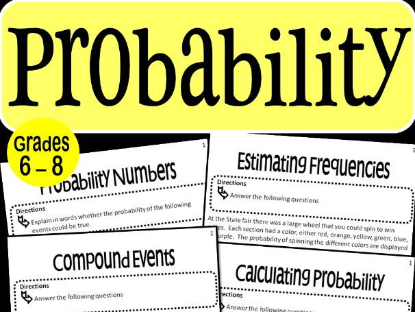 Probability Math Stations