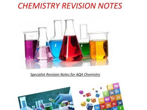 C3 - C4 AQA Chemistry GCSE Revision Notes (Triple)