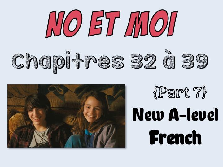 NO et MOI {Part 7} - Etude des chapitres 32 à 39 (only £5!)