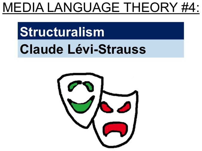 Structuralism - Claude Lévi-Strauss (media language theory #4)