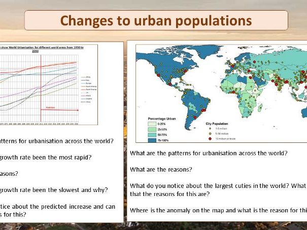 Global cities and Urbanisation in Mumbai and Manchester - AQA and Eduqas