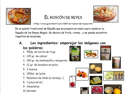 El Roscon de Reyes - Spanish cake recipe