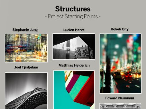 Photography - Structures Starting Points