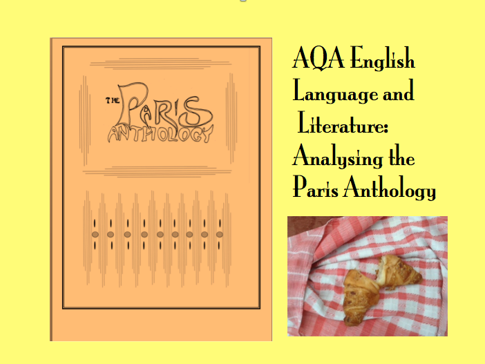 AQA Paris Anthology for English Language and Literature
