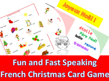 Christmas Cards Game- Jeu de cartes de Noël