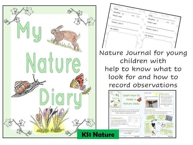 Nature Journal for young children