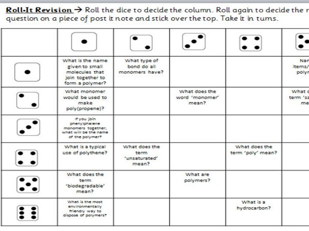 Roll-it Revision