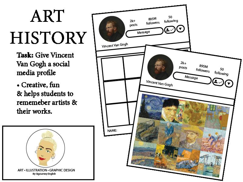 Art History: Give Vincent Van Gogh a social media profile