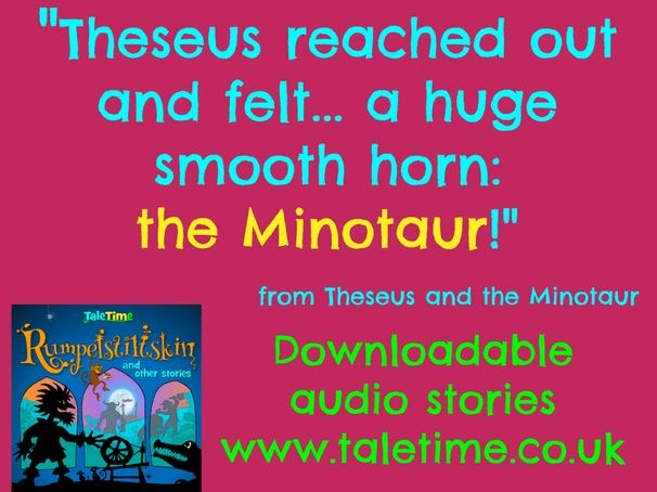 Theseus and the Minotaur: Audio Story plus Read Along Text
